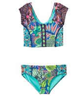 Maaji Girls' Fairy Fairmoss Tankini Two Piece Set (6yrs)