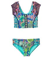 Maaji Girls' Fairy Fairmoss Tankini Two Piece Set (8yrs-16yrs)