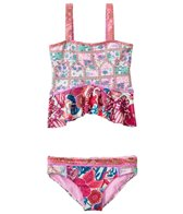 Maaji Girls' Mail Fairlady Tankini Ruffle Two Piece Set (2T-4T)