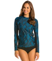 EQ Swimwear Reptile Long Sleeve Rash Guard