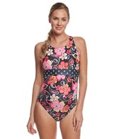 EQ Swimwear Seville Rose Banded Maternity One Piece Swimsuit