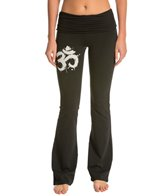 OmGirl Ink Brush Practice Yoga Pants