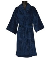 Royal Comfort 48 Bath Robe Terry Velour Shawl