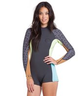 Billabong Women's 2MM Spring Fever L/S Back Zip Spring Suit
