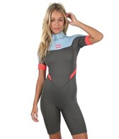 Billabong Women's 2MM Synergy Back Zip Spring Suit Wetsuit