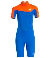 Billabong Toddler Boys' 2MM Foil Back Zip Spring Suit Wetsuit