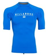 Billabong Men's All Day Short Sleeve Rashguard