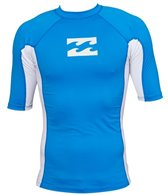 Billabong Men's Iconic Short Sleeve Rashguard
