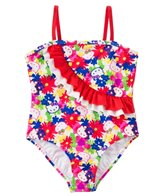 Hello Kitty Girls' Poppy Petal Ruffle One Piece (4yrs-6X)