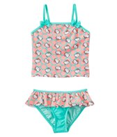 Hello Kitty Girls' Sweet Dreams Tankini Ruffle Two Piece Set (4yrs-6X)