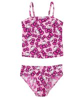 Hello Kitty Girls' Bow Tankini Two Piece Set (4yrs-6X)