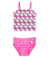 Hello Kitty Girls' Kitty Tankini Two Piece Set (4yrs-6X)