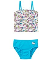 Hello Kitty Girls' Kitty Tankini Two Piece Set (4yrs-6yrs)