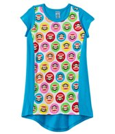 Paul Frank Girls' Julius Circles Hi Lo Cover Up Dress (4yrs-6X)