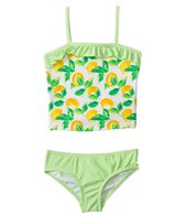 Kensie Girl Fresh Direct Lemon Tankini Two Piece Set (2T-4T)