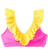 California Kisses Girls' Electric Youth Ruffle Top (7yrs-14yrs)