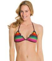 PilyQ Maya Tri Halter Bikini Top