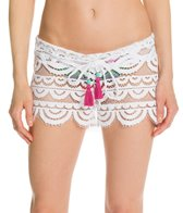 PilyQ Water Lily Lexi Crochet Cover Up Short