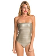 PilyQ Oro Strapless One Piece Swimsuit