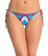 PilyQ Mumbai Full Tie Side Bikini Bottom