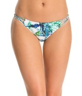 PilyQ Palms Braided Full Hipster Bikini Bottom