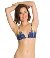 PilyQ Girl On Fire Emma Tri Bikini Top