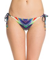 PilyQ Girl On Fire Full Tie Side Bikini Bottom