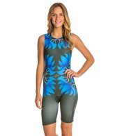 Triflare Women's Blue Lotus Trisuit