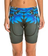 Triflare Women's Blue Lotus Tri Shorts