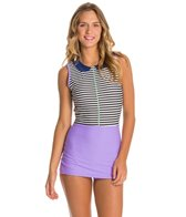 Seea Lima Purple Sail Surf Romper