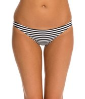 Seea Solimar Black Stripe Bikini Bottom