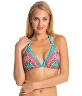 Profile Blush Swimwear Sultana Triangle Halter Bikini Top (DEF Cup)