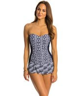 Profile by Gottex Cote D' Azure Bandeau Swimdress