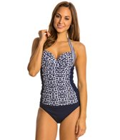 Profile by Gottex Cote D' Azure Underwire Halter Tankini Top (D-Cup)