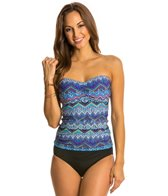 Profile by Gottex Sky Line D Cup Underwire Tankini Top
