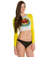Billabong Heritage Mash Up L/S Crop Top