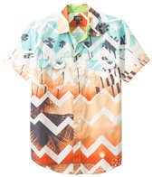 Maui and Sons Men's Cali Life Short Sleeve Shirt