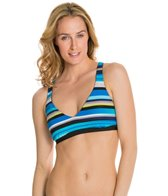 Jag Swimwear Coastline Reversible X Back Bra Bikini Top