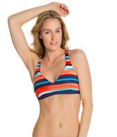 Jag Coastline Reversible X Back Bra Bikini Top