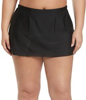 Sporti Plus Size Compressed Skirted Bottom Skort