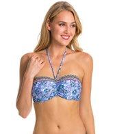 Profile Blush Swimwear Romance Underwire Bandeau Halter Bikini Top (DEF Cup)