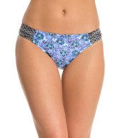 Profile Blush Swimwear Romance Tab Side Hipster Bikini Bottom