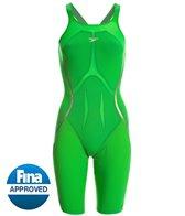 Speedo Women's LZR Racer X Closed Back Kneeskin Tech Suit Swimsuit