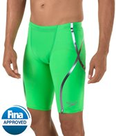 Speedo Men's LZR Racer X High Waist Jammer Tech Suit Swimsuit