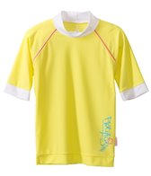 Platypus Australia Girls Lemon Short Sleeve Rashguard (3T-6yrs)