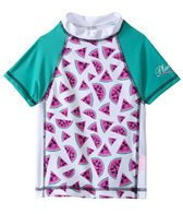 Platypus Australia Girls Watermelon S/S Rashguard (7-8yrs)