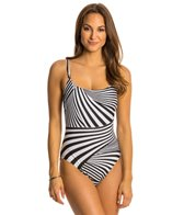 Gottex Illusion Round Neck One Piece Swimsuit
