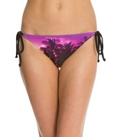 Roxy Swimwear Midnight Swim Mini Tie Side Bikini Bottom