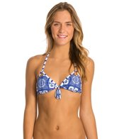 Roxy Swimwear Tides Of Way Binded Triangle Bikini Top