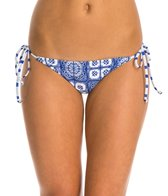 Roxy Tides Of Way Tie Side Mini Bikini Bottom